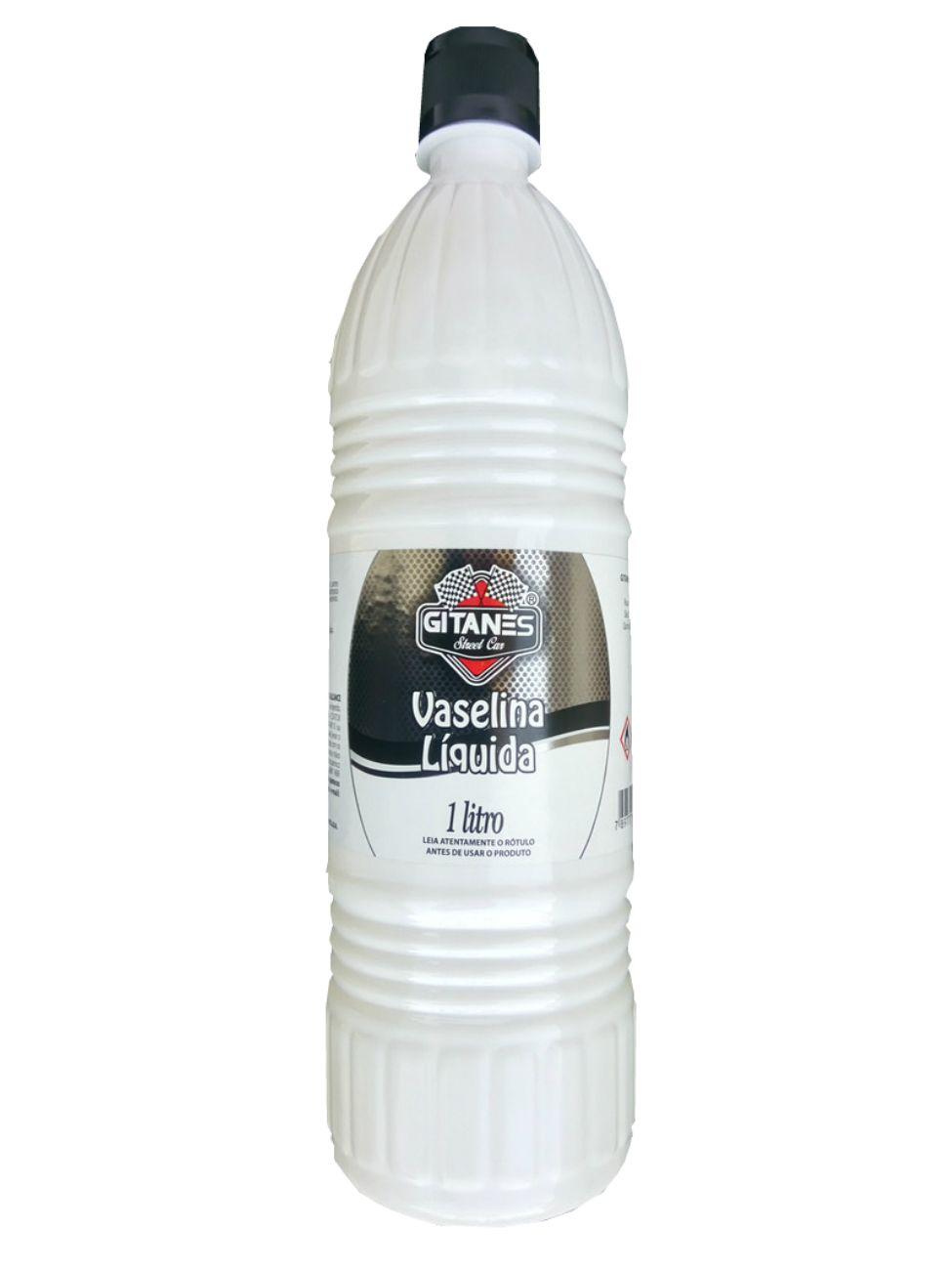 Vaselina Liquida Gitanes 1litro  - Rea Comércio - Sua Loja Completa!