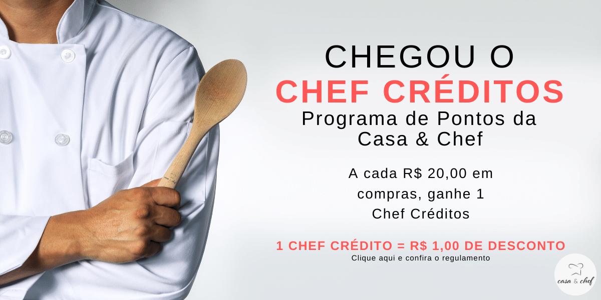Banner Chef Créditos