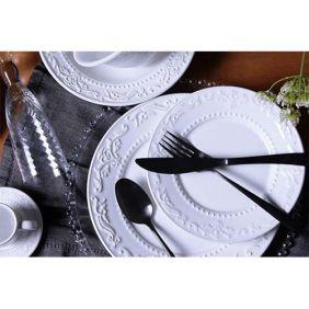 Aparelho de Jantar 42 Pecas Acanthus  Porto Brasil Branco 61229