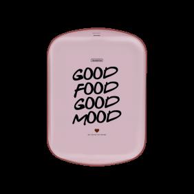 Assadeira Funda Tramontina MY Lovely Kitchen em Aluminio Rosa com Revestimento Interno Antiaderente Vermelho Starflon MAX 34 CM 4,9 L
