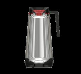 Bule Termico Tramontina Exata em ACO INOX Vermelho sem Infusor 300 ML