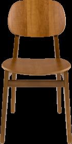 Cadeira de Madeira Tramontina London em Tauari Amendoa sem Bracos