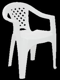 Cadeira Tramontina Iguape em Polipropileno Branco  Tramontina 92221010