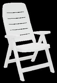 Cadeira Tramontina Iracema Encosto ALTO em Polipropileno Branco