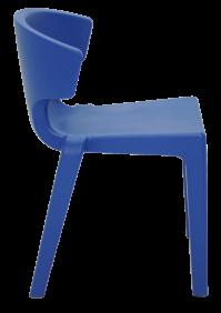 Cadeira Tramontina Marilyn Mariner em Polietileno sem Bracos