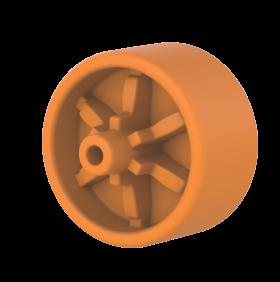 Caixa Organizadora Tramontina Basic com Rodas e Tampa em Plastico Preto 40 L