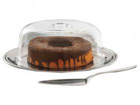 Conjunto Para Bolo ou Torta 3 Peças Brinox Petúnia 1524/132