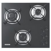Cooktop a Gás Em Vidro Temperado 3 Queimadores Tramontina Standard 3GG 45 94726/501