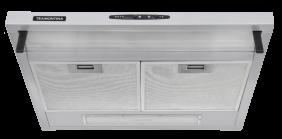 Depurador de Parede Tramontina Compact em ACO INOX e Vidro Temperado 60 CM 220 V