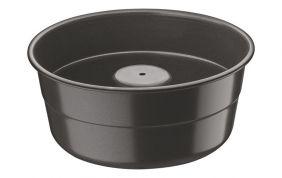 Forma Funda Para Bolo em Alumínio Antiaderente Tramontina Brasil 20 cm Preta 20062/020