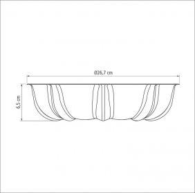 Forma para Bolo em Aluminio Antiaderente Tramontina Brasil 24 CM Preta 20074/024