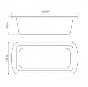 Forma para Pao em Aluminio Antiaderente Tramontina Brasil 22 CM Vermelha 2006722