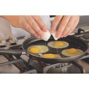 Frigideira 4 Ovos Antiaderente 26 cm Alumínio Multiflon Gourmet 55044