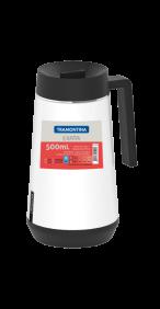 Garrafa Termica em ACO INOX com Infusor Tramontina Exata 500 ML Branco 61644/054