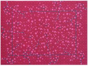 Jogo Americano Decor e Casa Cereja em PVC 30 CM X 40 CM KIT com 1, 4 ou 6 Pecas (desconto para KIT com 4 e 6 Pecas)