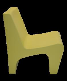 Poltrona Tramontina Berta Verde em Polietileno