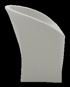 Poltrona Tramontina JET Concreto em Polietileno