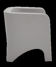 Poltrona Tramontina Tonic Concreto em Polietileno