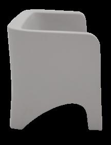 Sofa Tramontina Tonic Concreto em Polietileno