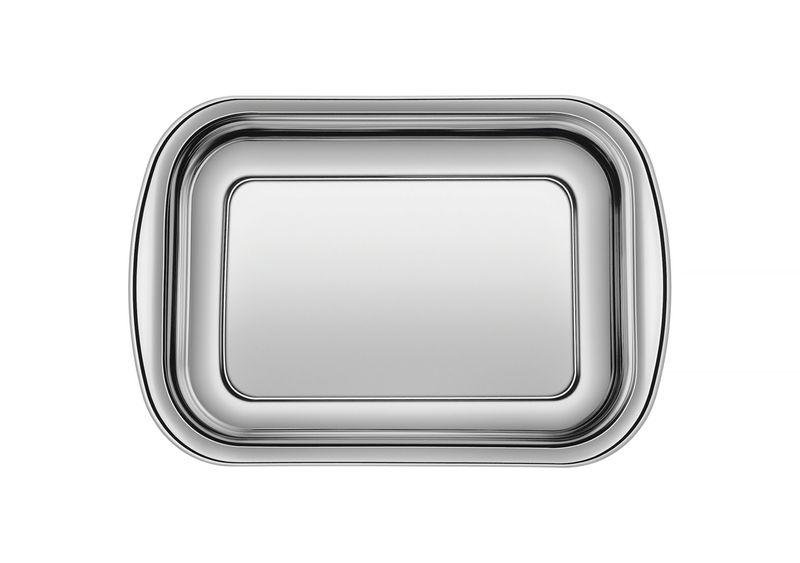 Assadeira em Aço Inox Tramontina Cosmos 29,5 x 19,2 x 4,5 cm 61310/301