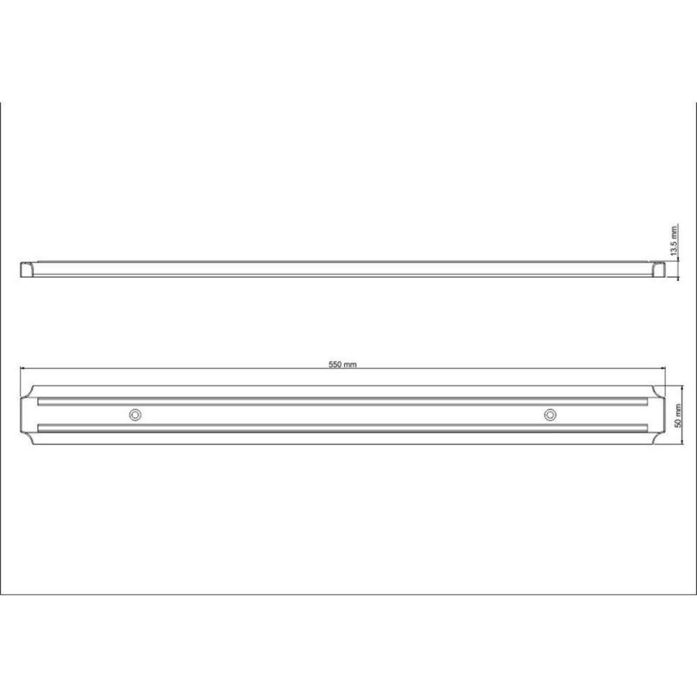 Barra Magnética Para Organizar Facas 55 cm Tramontina 26464/100
