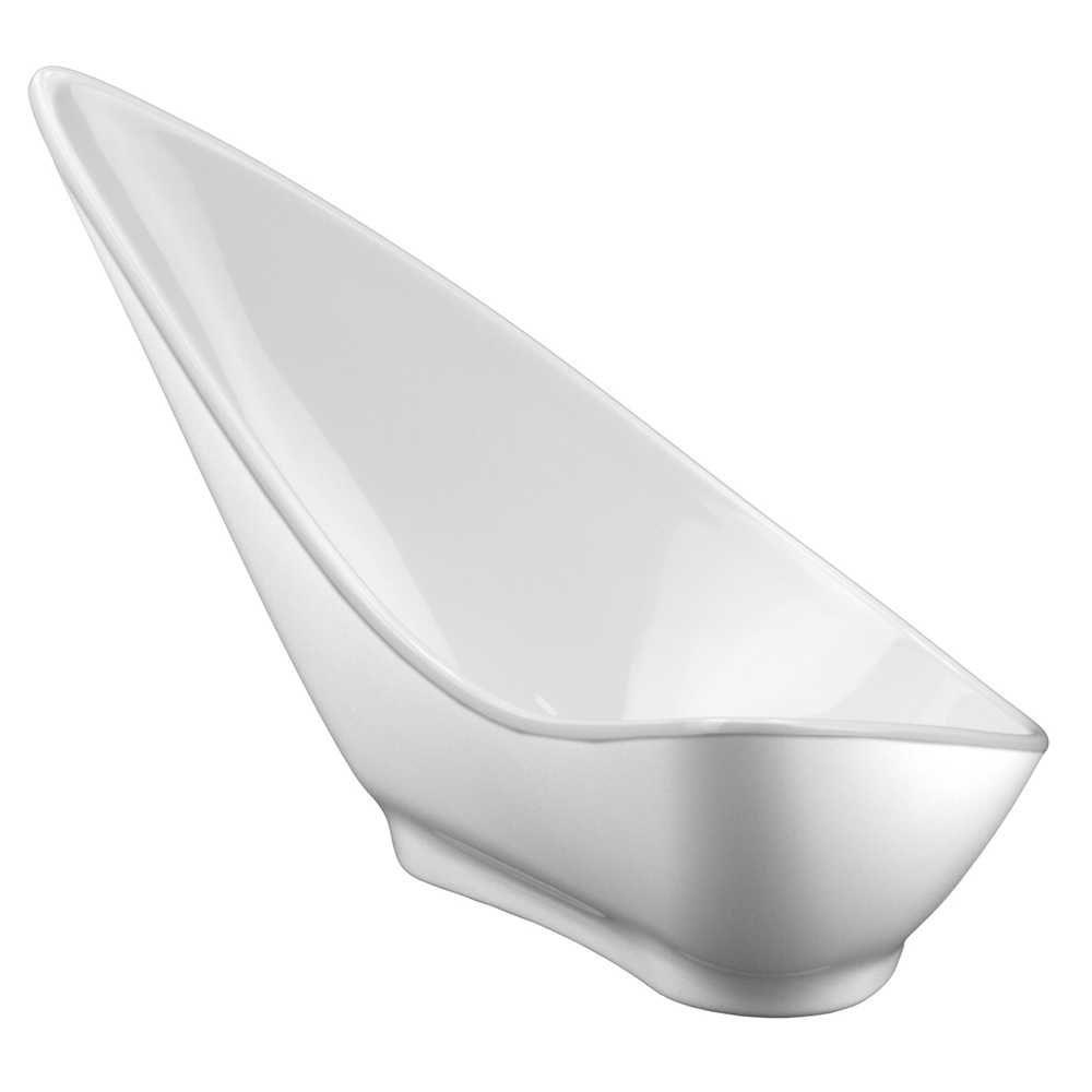 Bowl Concha Branco Em Melamina 100% Profissional Gourmet Mix GX5412