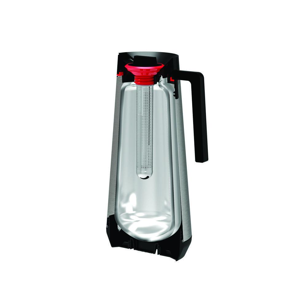 Bule Térmico em Aço Inox Com Infusor Tramontina Exata 300 ml Branco 61644/034