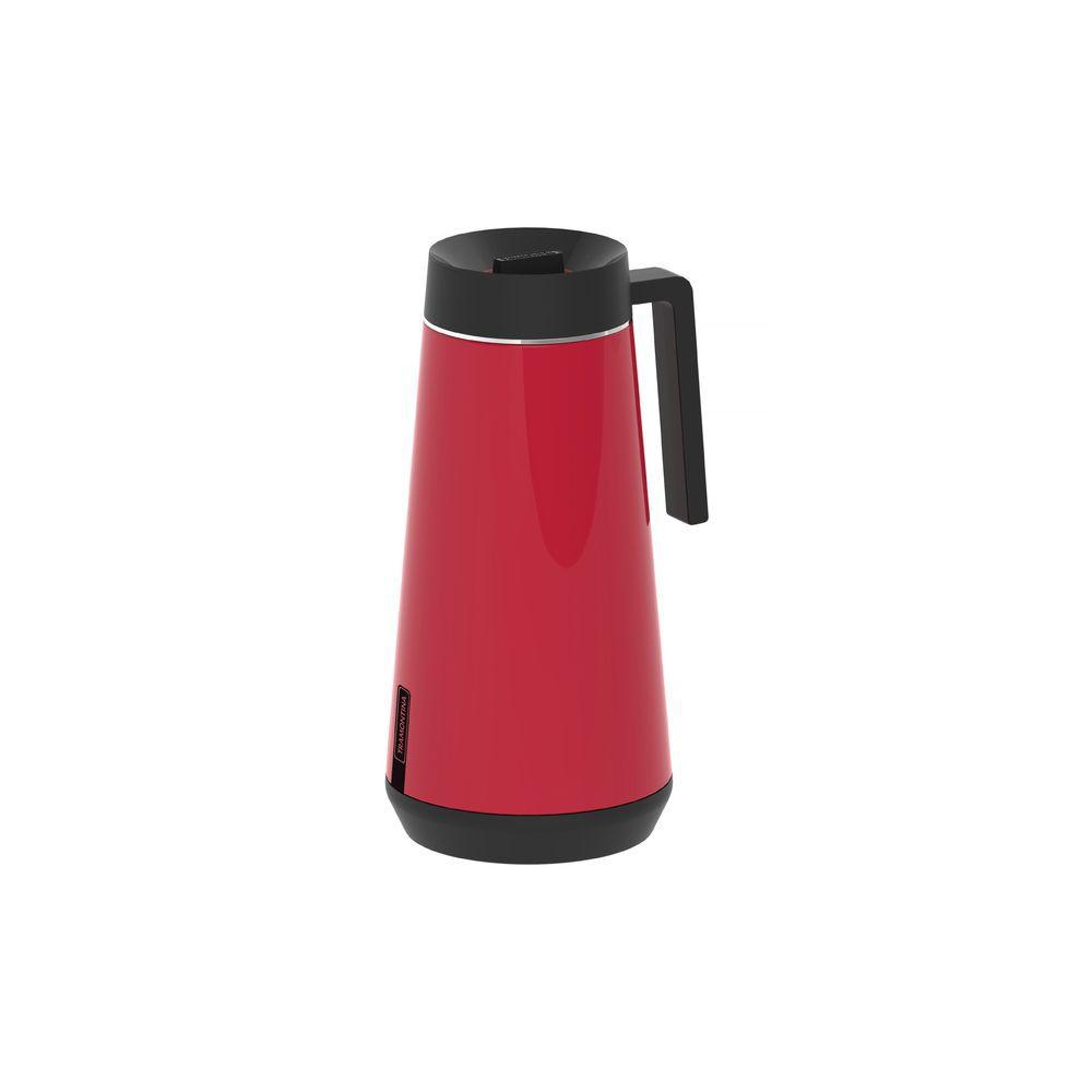 Bule Térmico em Aço Inox Com Infusor Tramontina Exata 750 ml Vermelho 61644/076