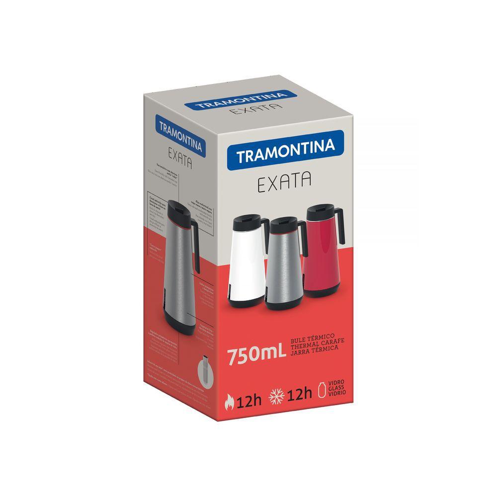 Garrafa Termica em ACO INOX com Infusor Tramontina Exata 750 ML Vermelho 61644/076