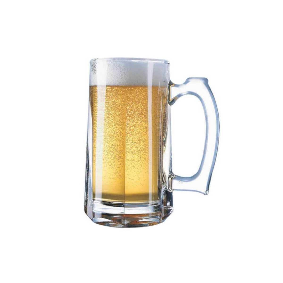 Caneca de Vidro Grosso Chopp / Cerveja 360 ml Gourmet Mix GX9054