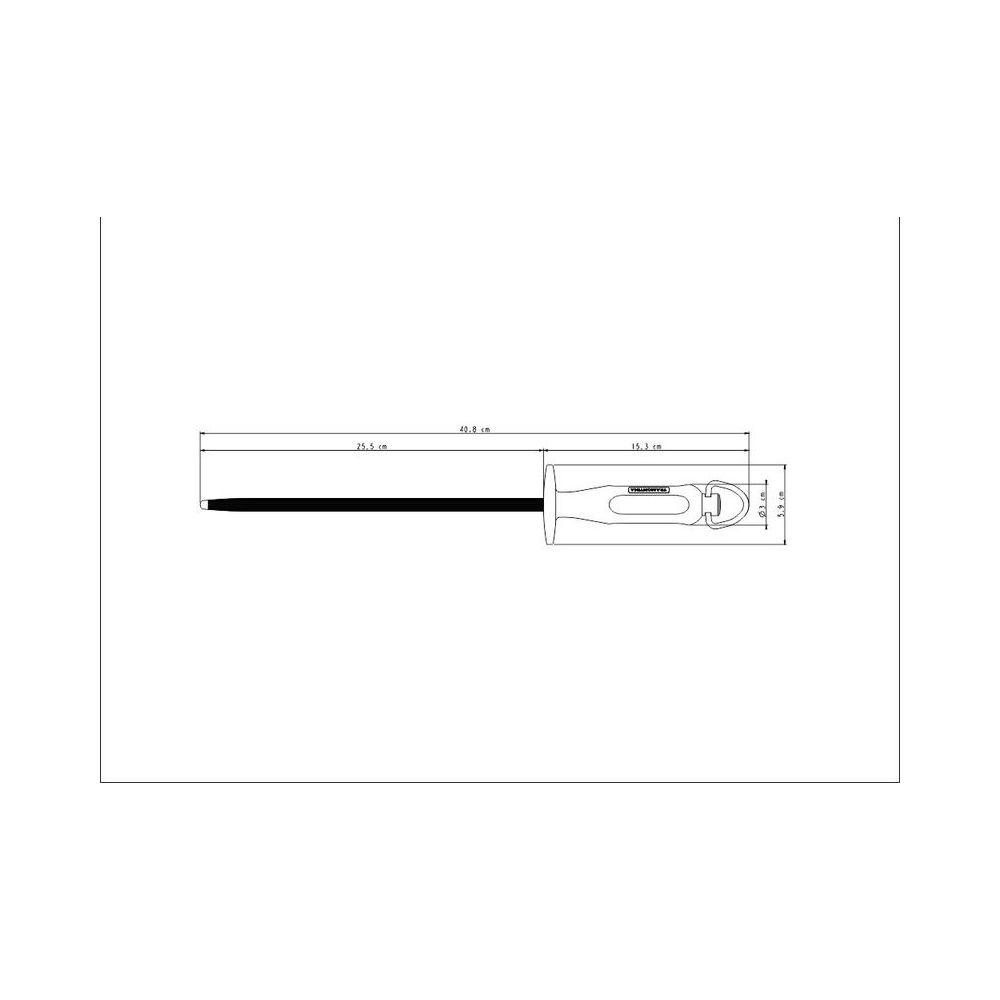Chaira em Aço Especial e Cabo em Polipropileno Tramontina Century 10 Polegadas 24017/110