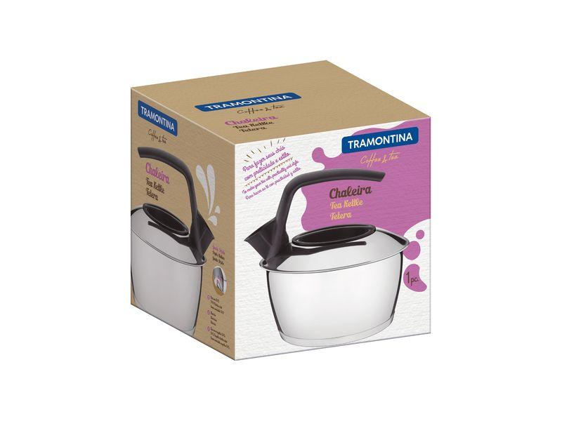 Chaleira em ACO INOX Fundo Triplo Tramontina Coffe e Tea 1,50 Litros 61485/160