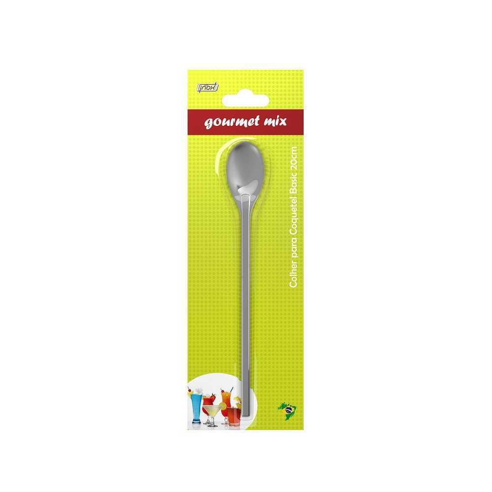 Colher Para Coquetel Grande 30 cm Gourmet Mix GX4100