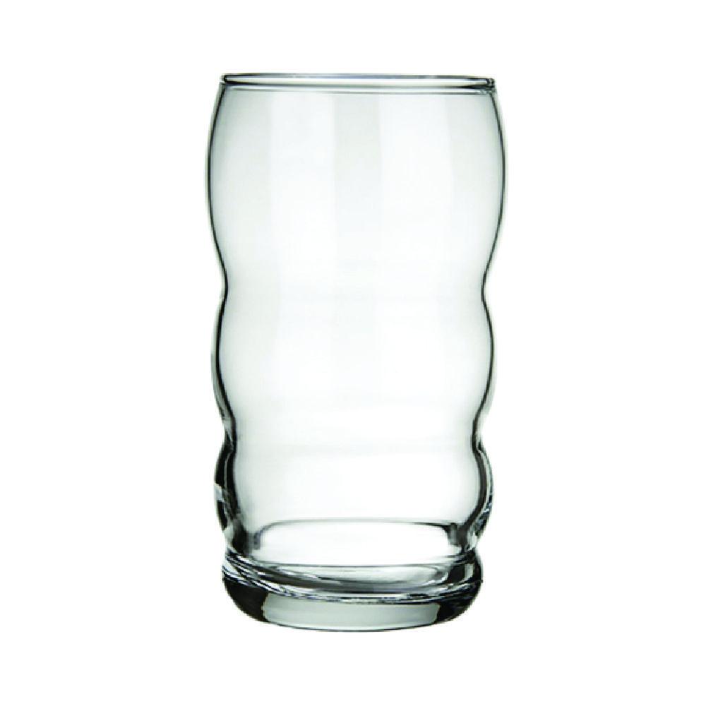 Conjunto de Copos de Vidro 8 Peças Long Drink 380 ml Nadir Figueiredo Bambolê 7747