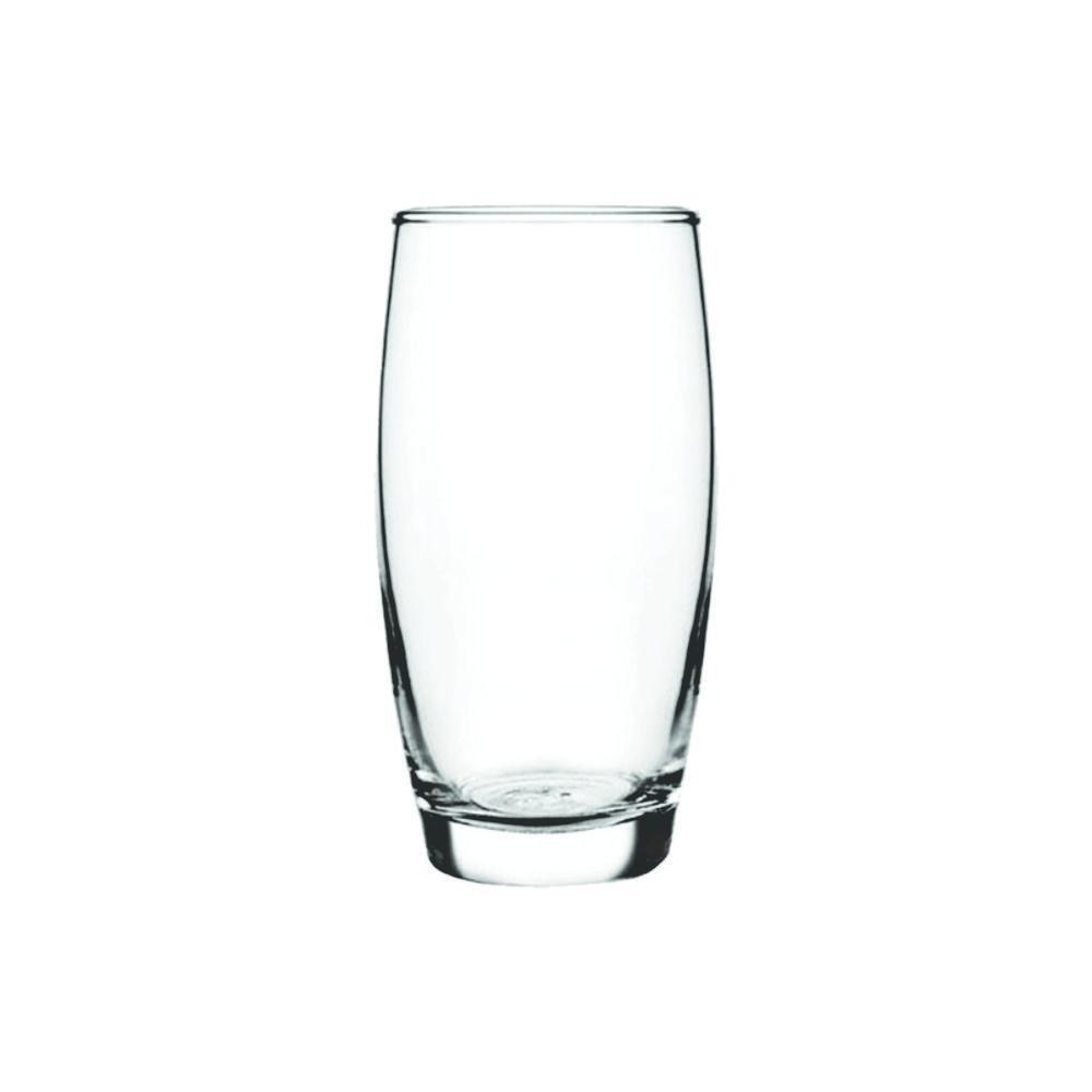 Conjunto de Copos de Vidro 8 Peças Long Drink 430 ml Nadir Figueiredo Oca 7643