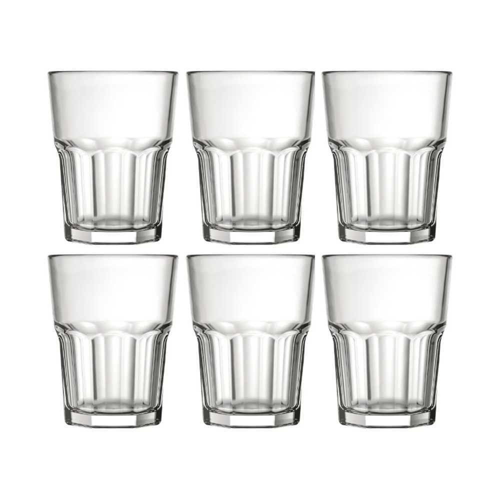 Conjunto de Copos de Vidro Para Shot / Dose 6 Peças 60 ml Nadir Figueiredo Bristol 2311