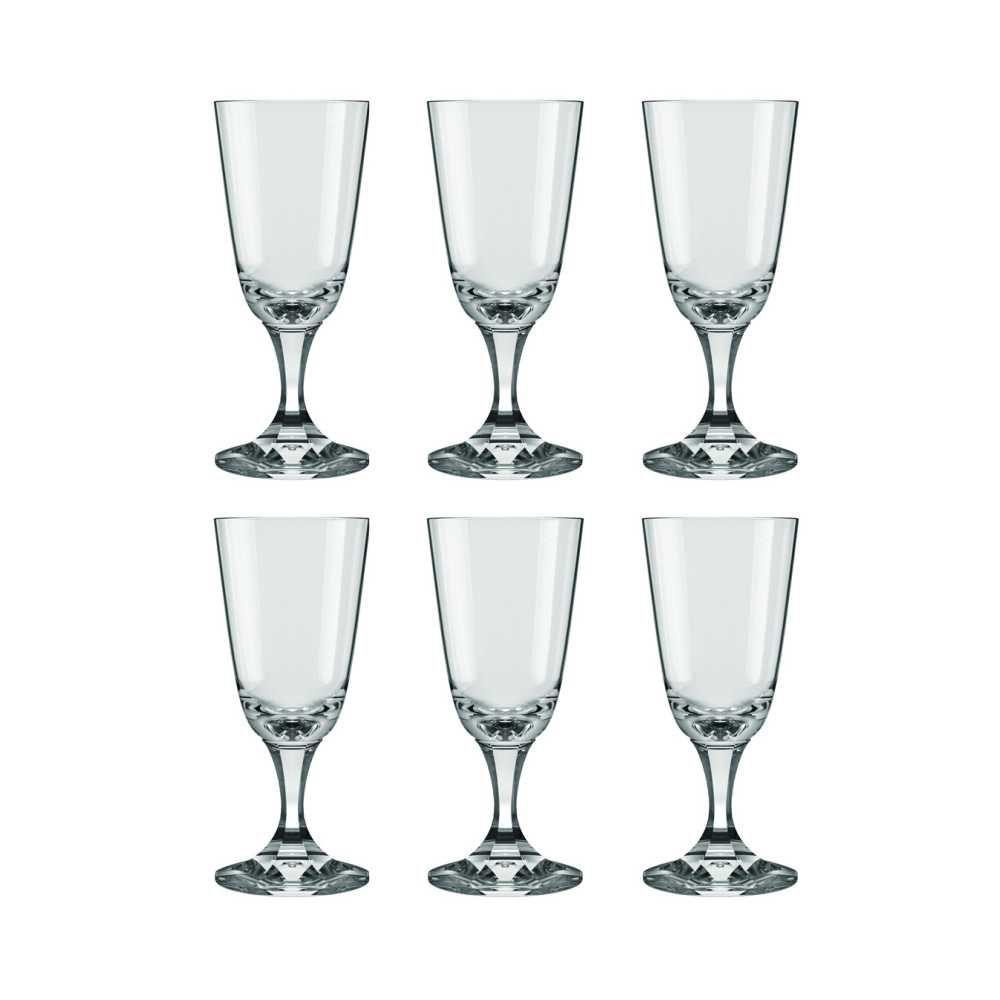 Conjunto de Taças de Cristal Para Licor 6 Peças 30 ml Nadir Figueiredo Excellence 7398