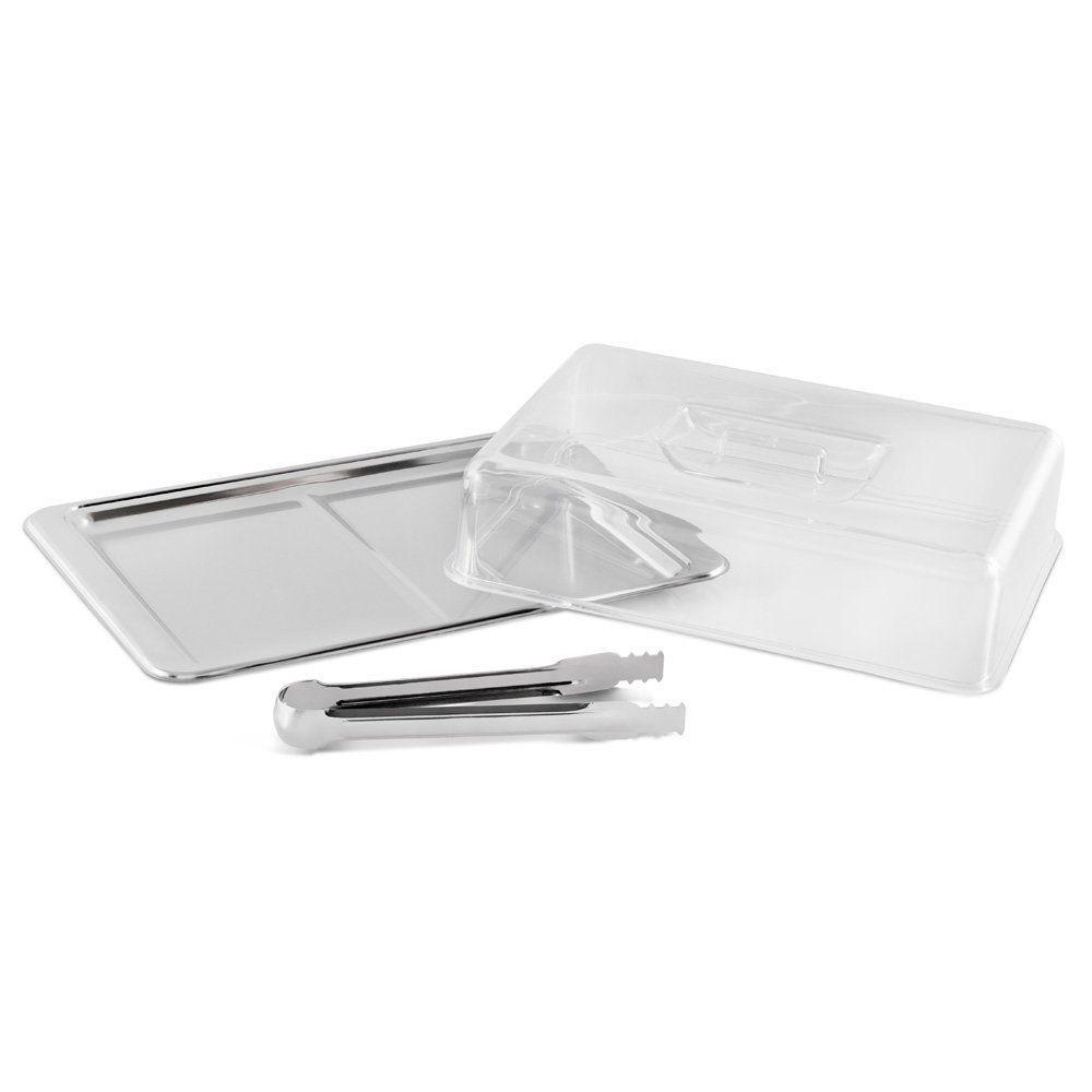 Conjunto Para Frios Aço Inox 3 Peças Brinox Átila 1413/100