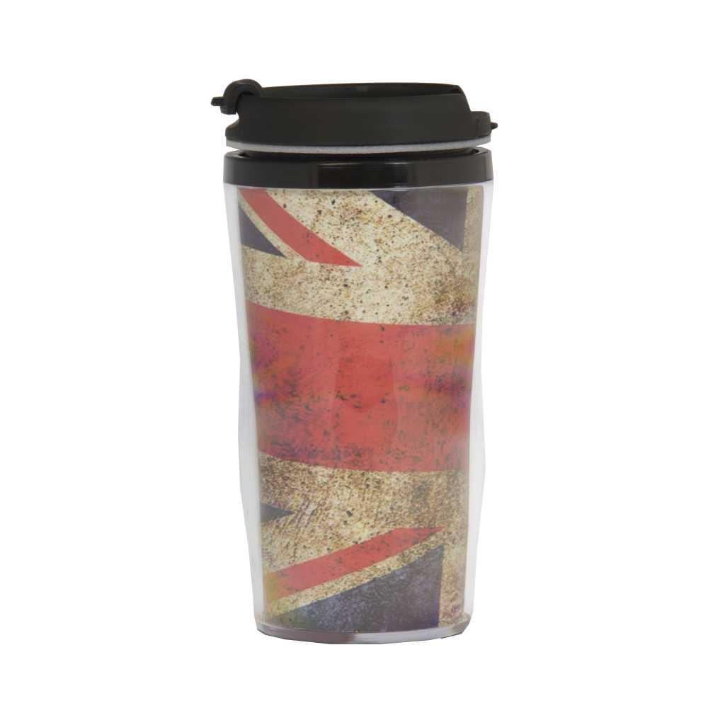 Copo Térmico Reino Unido 200 ml Com Flag Abre e Fecha Fácil CT1030