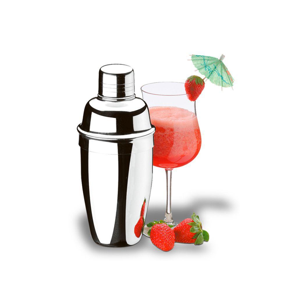 Coqueteleira Aço Inox 500 ml Com Tampa Dosadora Brinox Lyon 2354/000