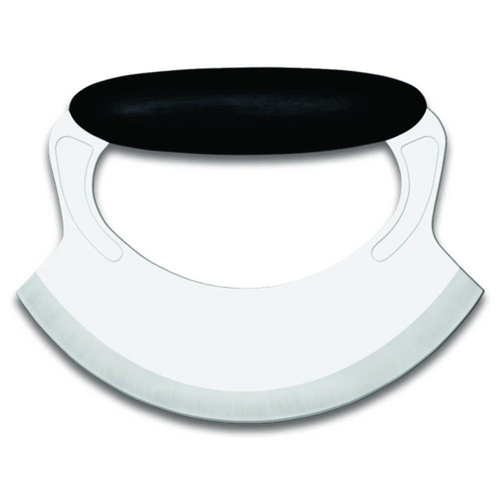 Cortador de Pizza Meia Lua Aço Inox 16,5 cm Brinox Precision 2509/307