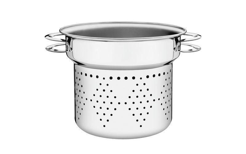 Cozi-Pasta em Aço Inox 24 cm 8 Litros Tramontina Solar 62514/241