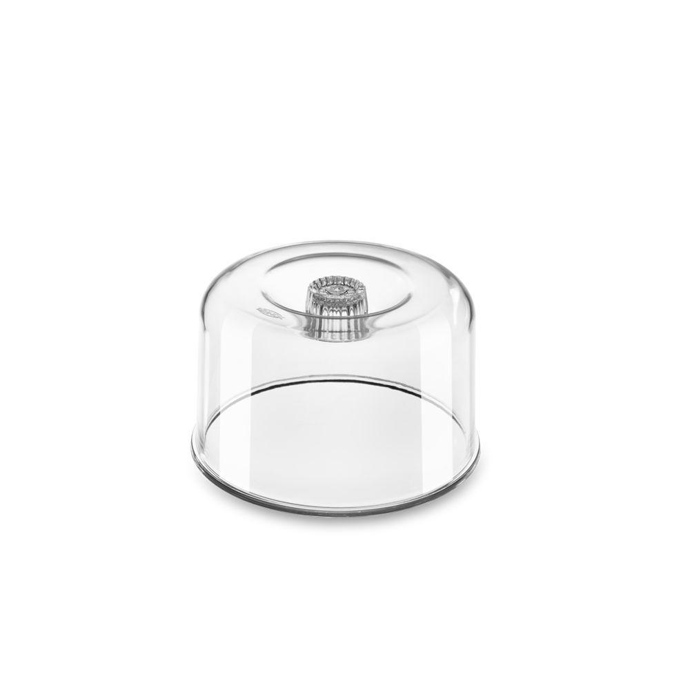 Cupula de Acrilico 12,5 X 7,8 CM para Queijo Minas / Ricota Brinox 2408/005
