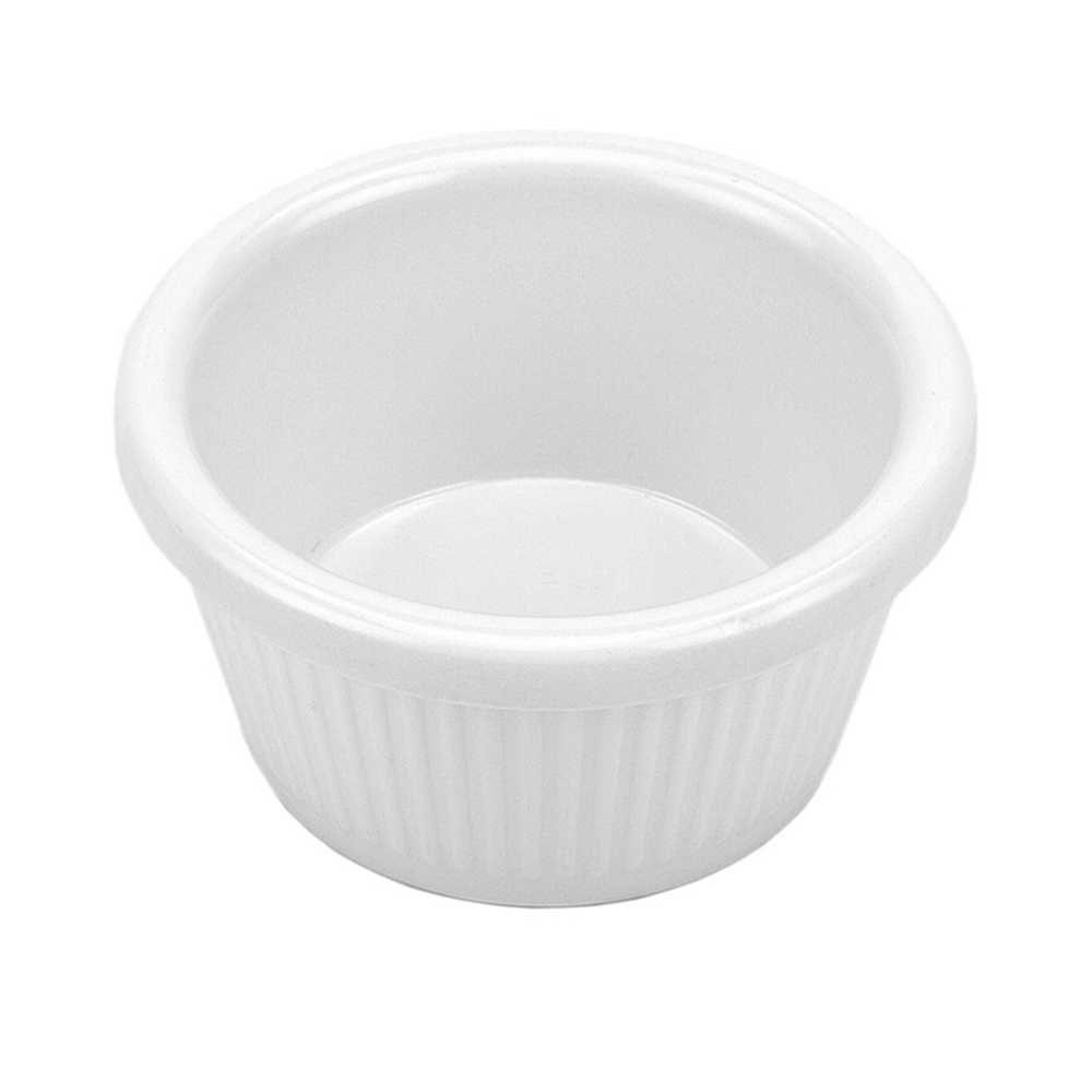 Finger Food Ramekin 90 ml 8 cm Branco Em Melamina 100% Profissional Gourmet Mix GX5359