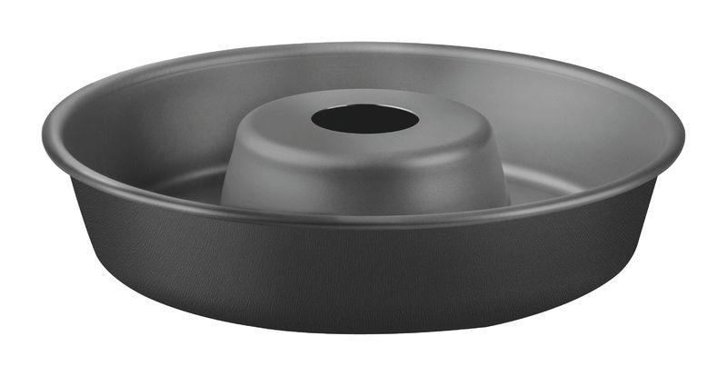 Forma com Cone Removivel de Aluminio Antiaderente Tramontina Brasil 26 CM Grafite 20067/026