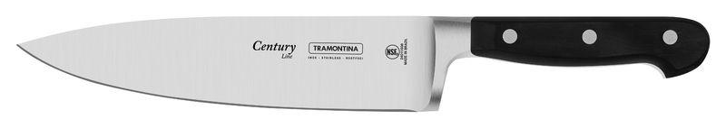 Jogo de Facas em Aço Inox Tramontina Century 3 Peças 24099/037