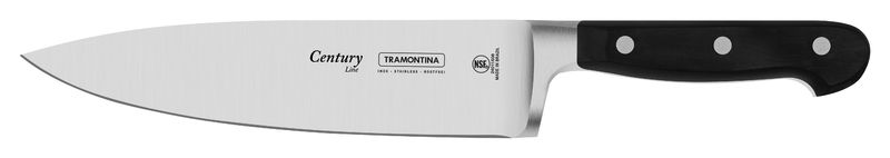 Kit MasterChef - Tábua Teca 30 X 30 Tramontina + Jogo de Facas 3 Peças Tramontina Century