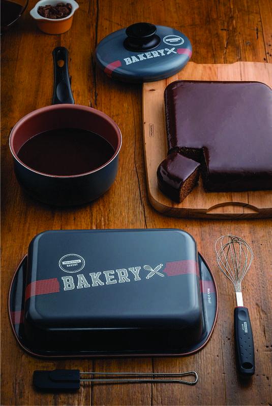 Kit Para Bolo e Cobertura 4 Peças Tramontina Bakery 27899/062