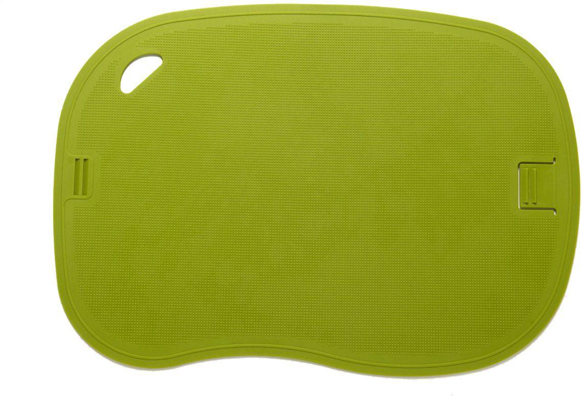 Kit Tábuas de Corte Flexivel Antibacteriana 2 Peças Get Essential 35 X 25 cm Verde e Laranja GE-TAB1CJ1