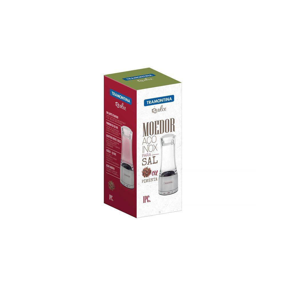 Moedor ACO INOX e Acrilico Tramontina Realce SAL ou Pimenta 61653/000